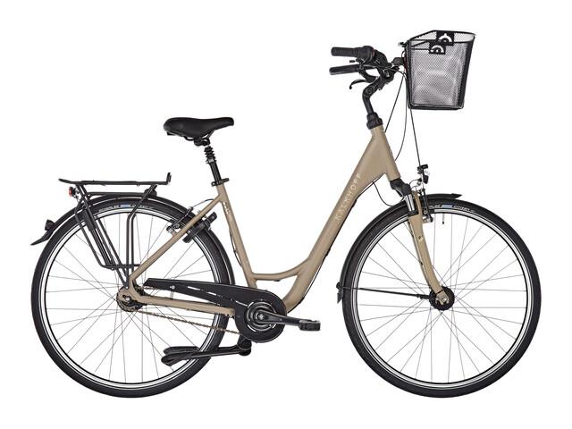 Kalkhoff Jubilee Plus 7 - Vélo de ville Femme - Wave beige/marron